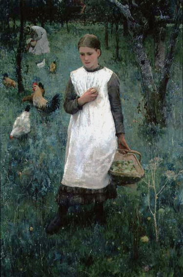 1882_in_the_orchard_1